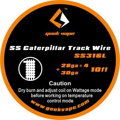 GeekVape Draht SS316L Caterpillar Track