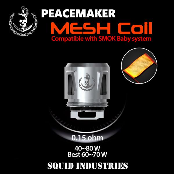 PeaceMaker Sub-Ohm Tank Mesh Coil 0.15 Ohm