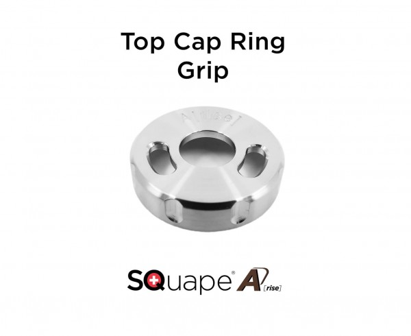 "SQuape A[rise] Top Cap Ring ""Grip"""