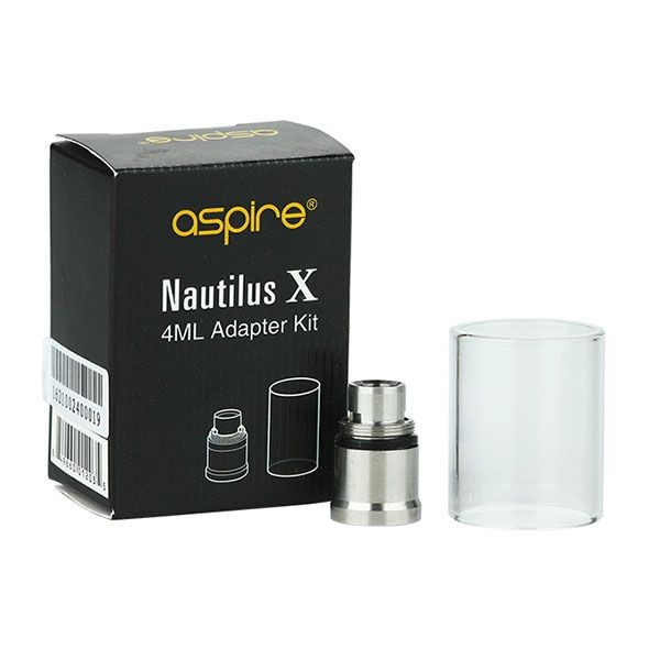 Nautilus X / XS 4ml Adapter Kit