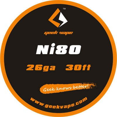 GeekVape Draht Ni80 26GA (0.4mm)