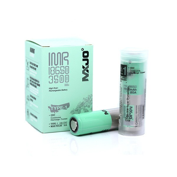 MXJO 18650 3500 Mah 20A Batterie (TYPE-1 10A CDC)