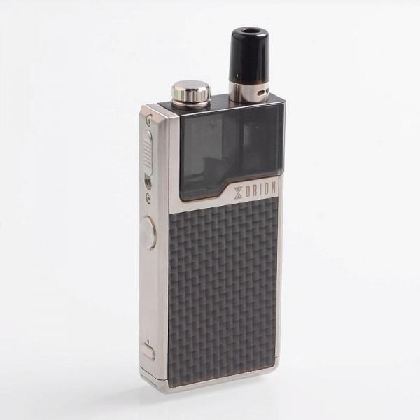 Lost Vape Orion DNA GO 40W Full Kit Silver / Textured Carbon Fiber