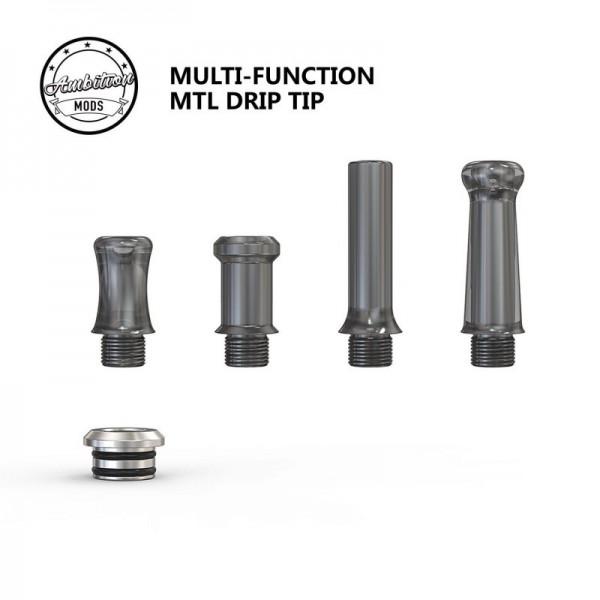 Multi Function MTL Drip Tip