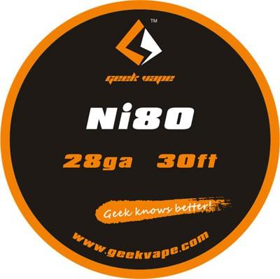 GeekVape Draht Ni80 28GA (0.3mm)