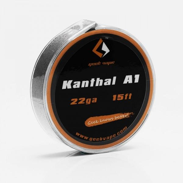 GeekVape Draht Kanthal A1 22GA (0.6mm)