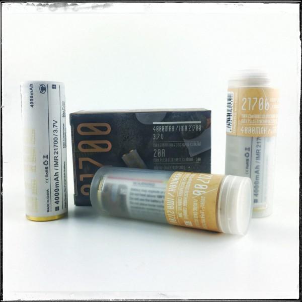 MXJO IMR 21700 4000MAH 30A 3.7V Flat Top Battery