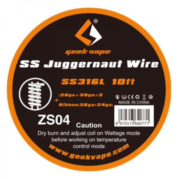 GeekVape Draht SS316L Juggernaut