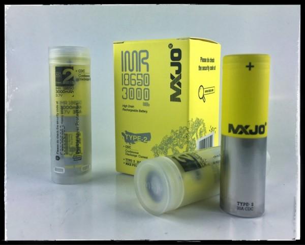 MXJO IMR 18650F 3000MAH 35A 3.7V Flat Top High Drain Battery