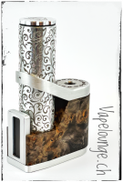 Telli's Mod Queen Black / Silver Engraved